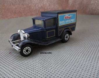 kellogg Matchbox , 1979 Matchbox Model A Ford , Kellogg Rice Krispies toy , Model A Ford ,Die Cast toy car