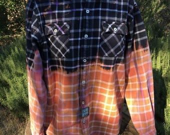 UB You upcycled flannel shirt