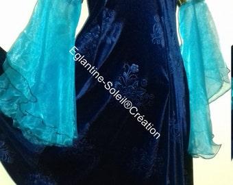Dress medieval Princess, fairy tale, beautiful velvet.