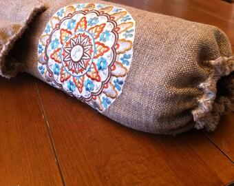 Linen Yoga Bag