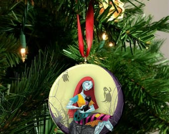 "Nightmare Before Christmas Sally Image Christmas Tree 2.25"" Ornament"