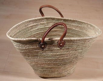 Handmade Wicker from Morocco Africa bags - shopping basket