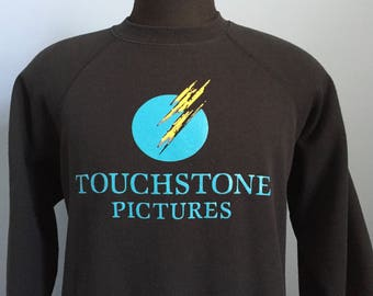 80s 90s Vintage Touchstone Pictures Disney Studios movie Sweatshirt - XL X-LARGE