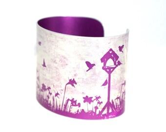 Spring garden cuff pink