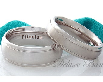 Reserved  Titanium Wedding Bands