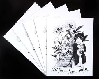 Get Fun with Laudanum by Grelin Machin - print on paper