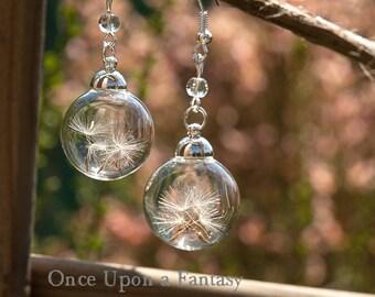 Earrings dandelion flight - Once Upon a Fantasy
