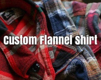 Soft Custom Flannel Shirt