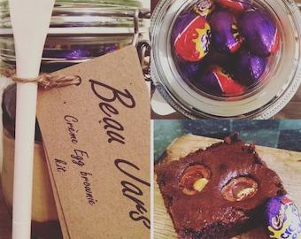 Creme egg brownie kit