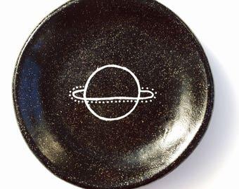PLANET I // clay trinket dish
