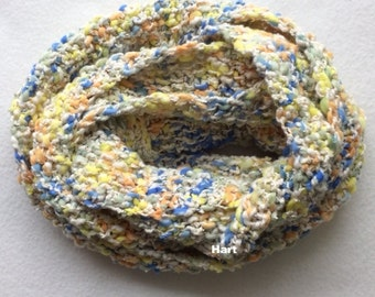 Infinity scarf in bright colors
