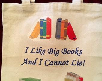 I Like Big Books Bookbag