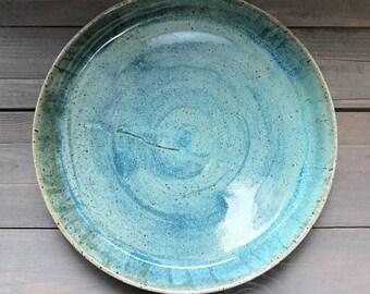 Handmade one of a kind plate