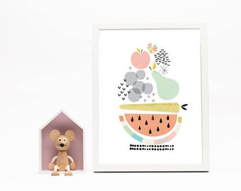 Tooty Fruity Print