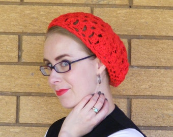 Made to order crochet beret