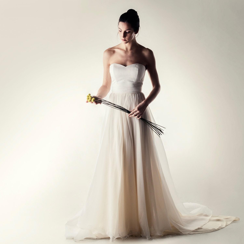 Brautkleid trennt Braut Boho Brautkleid Hochzeitskleid