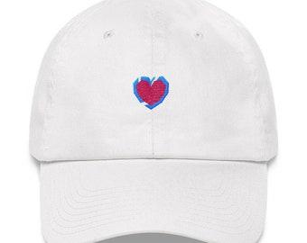 Heart Container Dad Hat - Heart Container Hat - Heart Container Dad Cap - Heart Container Zelda - Zelda Heart Container Hat - Heart Piece