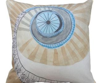 Spiral Stair Pillow