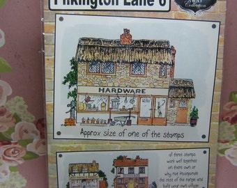 Stamps away collection, Pilkington lane 6, set of three craft stamps