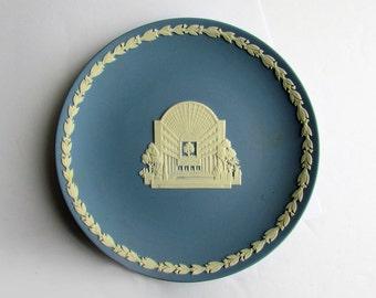2 Wedgwood, Blue & White Jasperware, Plates made to Commemorate Eatons, Vintage