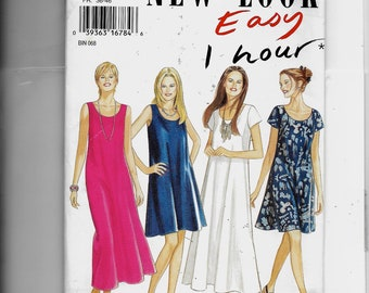 New Look Misses' Dress Pattern 6352