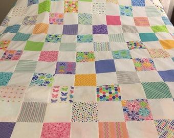 Brighten Up Quilt Top 60x72
