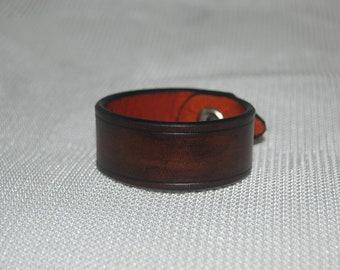 leather bracelet, friendship bracelet, handmade 100% real leather