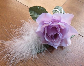 Flower Corsage , Lilac Rose. Weddings, Proms or Events.