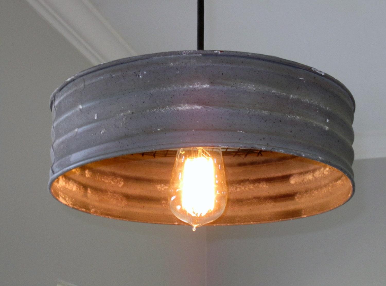 ?zoom & Lighting Metal Sifter Pendant rustic lighting Industrial