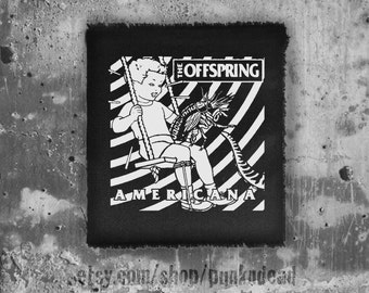 The offspring patch • punk patch • back patches • punk fashion • punk clothing • punk aufnäher • punk accessories •sew on patches