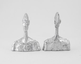Skinny Heads - Miniature Sculpture