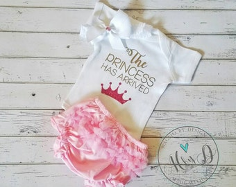 The Princess has arrived | Newborn| Coming home outfit