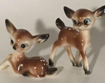 Set of baby deer