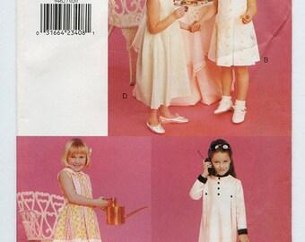 Vintage Vogue for Me 9462 Girls Dress Uncut Sewing Pattern Sizes 2-3-4