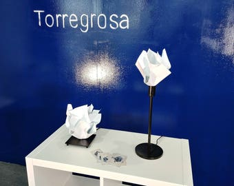 Handmade table lamp Torregrosa, impossible to duplicate.