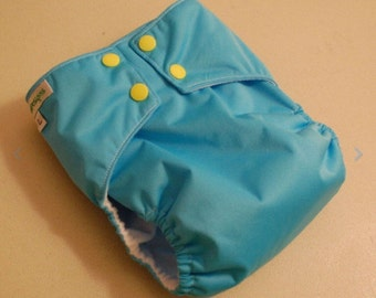 LuluBellDesigns SURPRISE All in One AIO Cloth Diaper Solids NB S M L