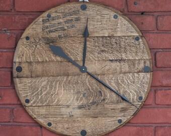 Jack Daniels Barrel Head Clock
