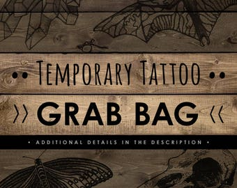 Grab Bag! Several Spectacular Temporary Tattoo Designs!