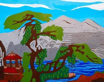 Eastern Landscape - Print
