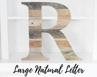 Farmhouse Decor, Rustic Home Decor, Modern Decor, Housewarming Gift, New Home, Wood letter, Wooden Letter,  Wall Letter, Country Decor
