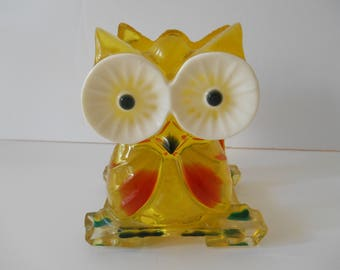 LUCITE Napkin Holder - or Use it to Catch Your Mail!