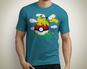 Pikachu doesn't want to go - Pokemon T-Shirt
