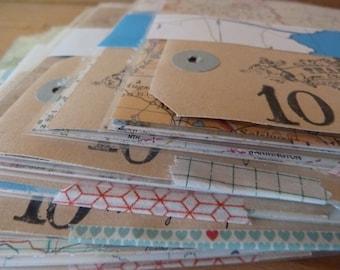 VINTAGE MAP Paper Pack
