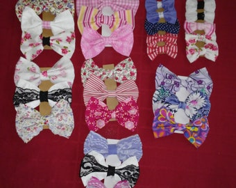 Beautiful Bows by Bree - Great hair accessories for all ages - 8 collections - 3 or 5 card to choose from
