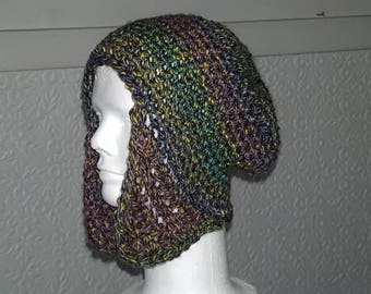 Woman's small slouchy aviator hat