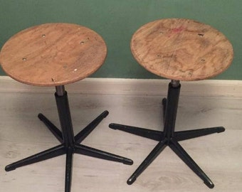 Industrial Stool (2x)