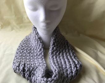 SALE** Gray infinity scarf
