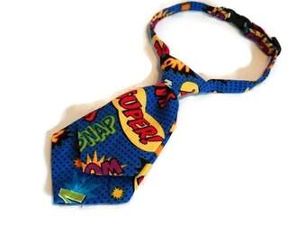 dog tie,neck tie,dog neck tie,super herosl ,dog accessories,plaid neck tie, pet neck tie,attachable accessory, pet collar