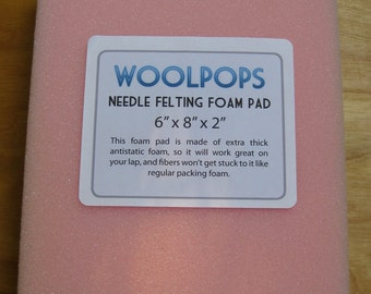 Woolpops Antistatic Needle Felting Foam Pad