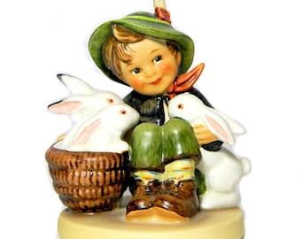 Hummel Figurine Playmates #58/0 Goebel West Germany TMK 6 Signed '83